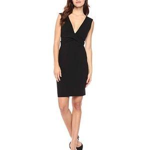 bebe Little Black Sheath Dress size 4
